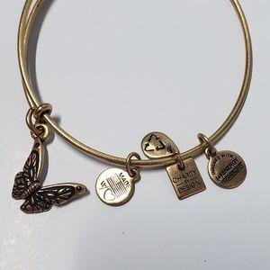 Alex and Ani Jewelry - ALEX + ANI Butterfly Bangle Bracelet
